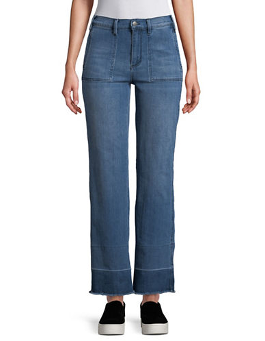 Buffalo David Bitton Ivy 70s Straight Jeans-BLUE-31