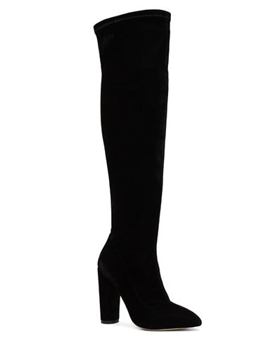 Aldo Sylvana Over-the-Knee Dress Boots-BLACK-8