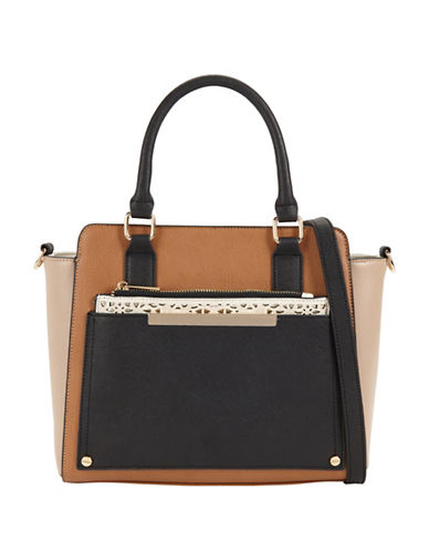 Call It Spring Elrodred Structured Tote-BROWN-One Size
