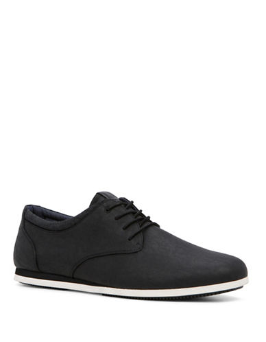Aldo Auwen Low-Top Lace Sneakers-BLACK-7