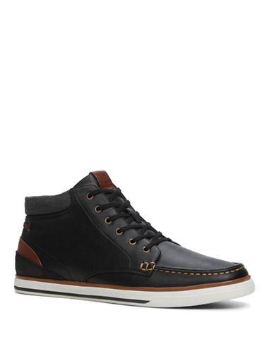 Aldo Ibaliwen High-Top Lace Up Sneakers-BLACK-7