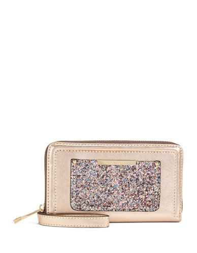 Aldo Choctaw Sequined Wallet-FUCHSIA-One Size