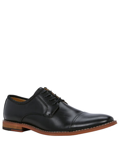 Call It Spring Gugino Lace-Up Derby Shoes-BLACK-11