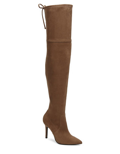 Aldo Asteille Stiletto Over-the-Knee Boots-TAN-7.5