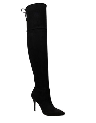 Aldo Asteille Stiletto Over-the-Knee Boots-BLACK-8