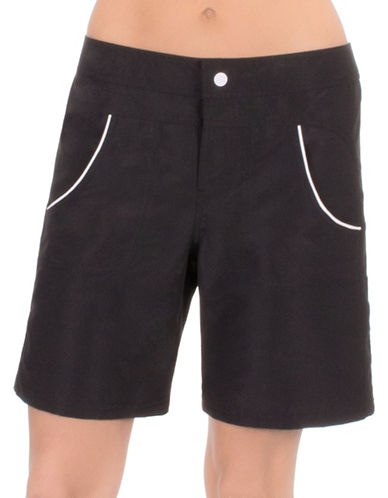 Point Zero Long Board Shorts-BLACK-X-Large 88887217_BLACK_X-Large