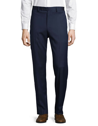 Lauren Ralph Lauren Ultraflex Pants-NAVY-34X32