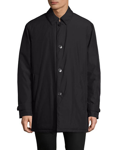 Lauren Ralph Lauren Water-Repellent Coat-BLACK-44 Regular