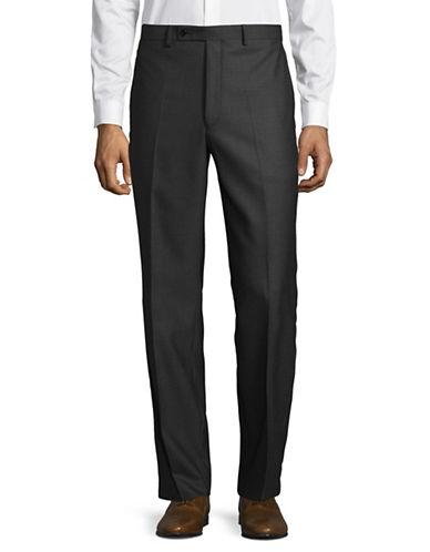 Lauren Ralph Lauren Classic Ultraflex Trousers-GREY-38X34