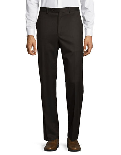 Lauren Ralph Lauren Classic Ultraflex Trousers-BROWN-34X30