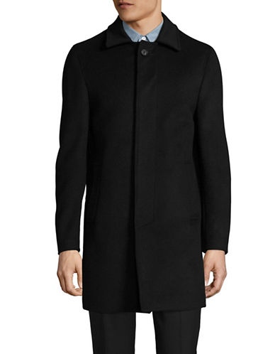 Dkny Five-Button Topcoat-BLACK-36 Regular