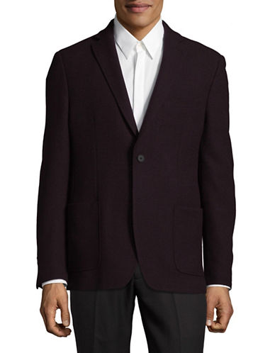 Dkny Two-Button Sports Jacket-RED-42 Regular