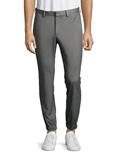 1670 Fitted Jogger Dress Pants-GREY-30X30