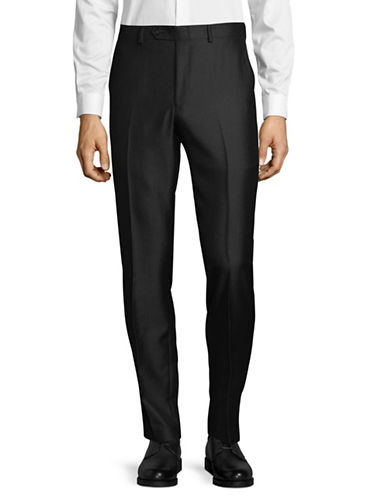 1670 Classic Dress Pants-BLACK-38X34