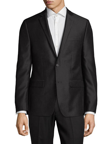 1670 Classic Suit Jacket-BLACK-40 Short