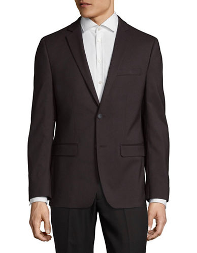 1670 Classic Suit Jacket-RED-42 Tall