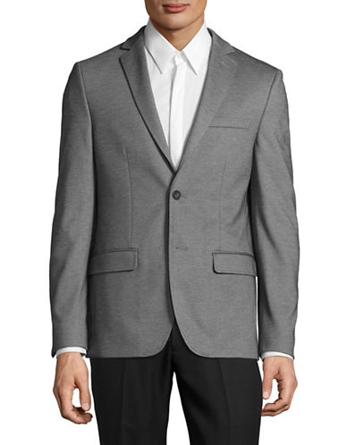 1670 Slim Fit Sports Jacket-GREY-40 Regular