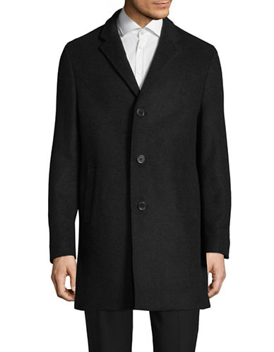 John Varvatos Star U.S.A. Notch Lapel Coat-GREY-40 Tall