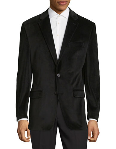 Lauren Ralph Lauren Classic Suit Jacket-BLACK-46 Regular