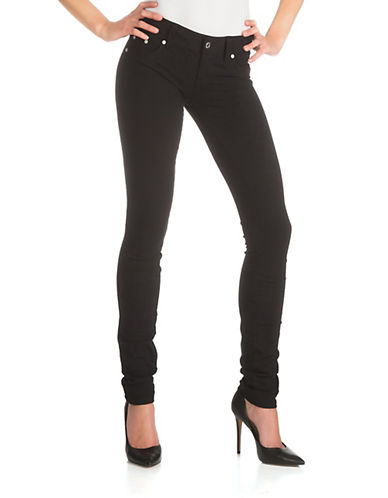 Guess Jenna Stretch Skinny Pants-JET BLACK-30