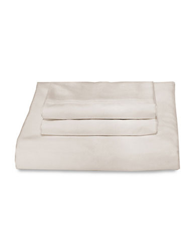 Bellisimo Bellisimo 480 Thread Count Wrinkle Free Four-Piece Sheet Set-IVORY-King