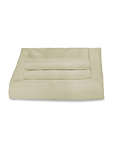 Bellisimo Bellisimo 480 Thread Count Wrinkle Free Four-Piece Sheet Set-TAUPE-Queen