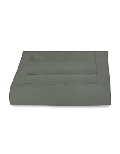 Bellisimo Bellisimo 480 Thread Count Wrinkle Free Four-Piece Sheet Set-GREY-Queen