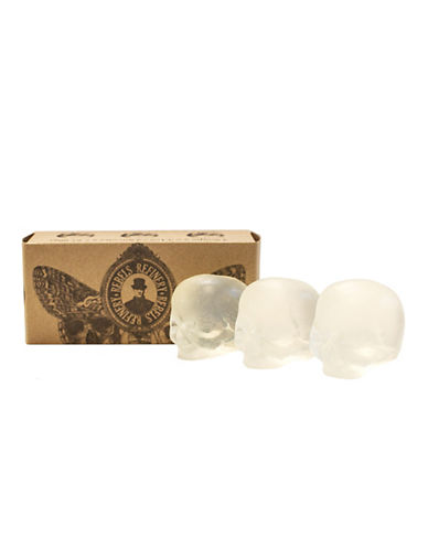 Rebels Refinery Three-Pack Clear Glycerin Skull Soap-ASSORTED-0