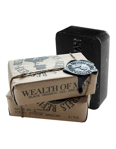 Rebels Refinery Wealth of Man Organic Oil Bar Soap-NO COLOUR-0