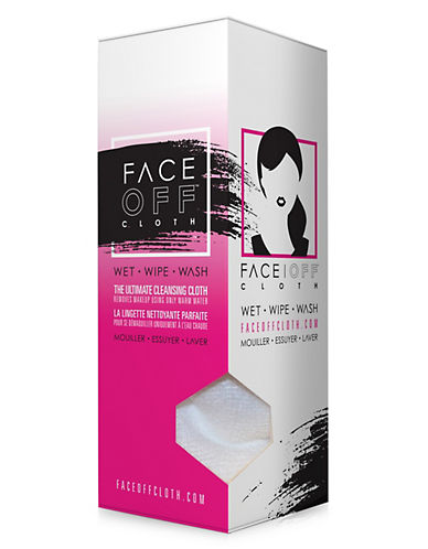 Faceoff All-In-One Makeup Removal Cloth-WHITE-One Size