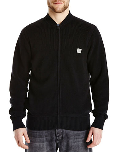 Bench Overtown Zip Cardigan-JET BLACK-Small 87963937_JET BLACK_Small