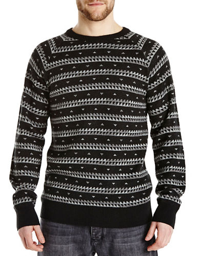Bench Fast Talker Wool-Blend Sweater-JET BLACK-Medium 87963943_JET BLACK_Medium