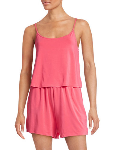 Bench The Superbank Spaghetti Strap Romper-PINK-X-Small 88367358_PINK_X-Small