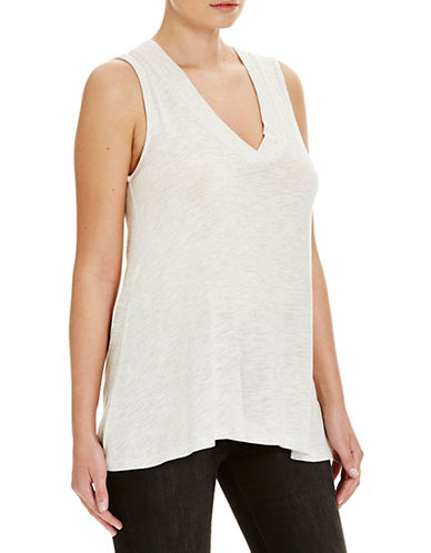 Bench Bumerrang V-Neck Tank Top-GREY-X-Large 88519076_GREY_X-Large