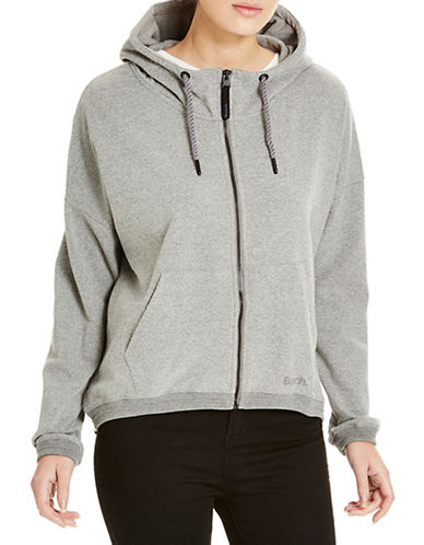Bench Sporatic Zip-Up Hoodie-GREY-X-Small 88519585_GREY_X-Small
