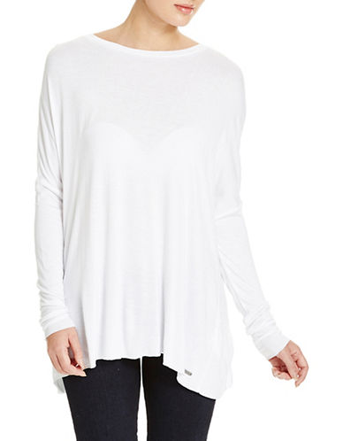 Bench Synonyms Long Sleeve Top-WHITE-X-Small 88519653_WHITE_X-Small
