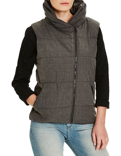 Bench Trap Zip-Up Vest-BLACK MARL-X-Large 88519677_BLACK MARL_X-Large