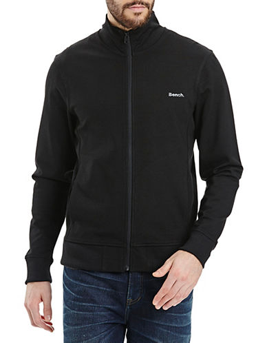 Bench Mock Neck Zip-Up Jacket-BLACK-Large 88665898_BLACK_Large