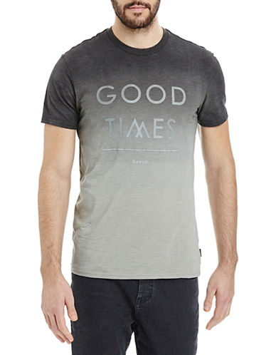 Bench Good Times Ombre T-Shirt-GREY-X-Large 88665984_GREY_X-Large