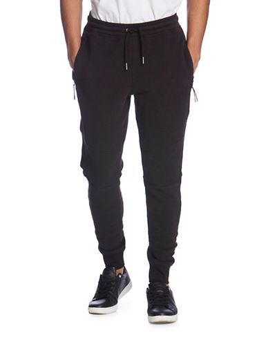Bench Sprinter Tapered Jogger Pants-BLACK-Medium 88666002_BLACK_Medium