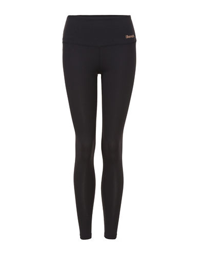 Bench Dominant Logo Leggings-BLACK-Small