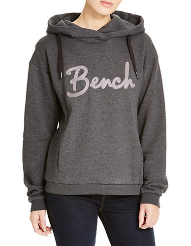 Bench Impulsion Popover Hoodie-JET BLACK-X-Small 88732962_JET BLACK_X-Small