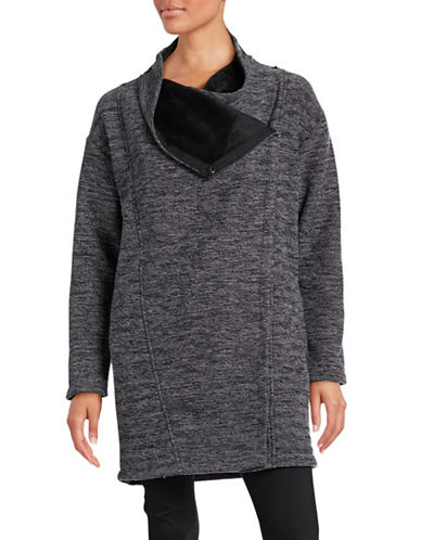Bench Longline Funnel Neck Sweater-JET BLACK-Large 88732980_JET BLACK_Large