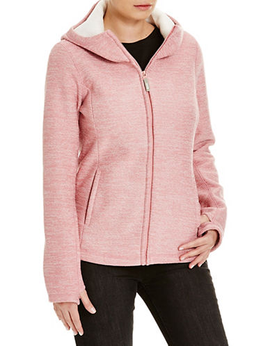 Bench Furthermost Bonded Knit Zip Jacket-APRICOT-Small 88732983_APRICOT_Small
