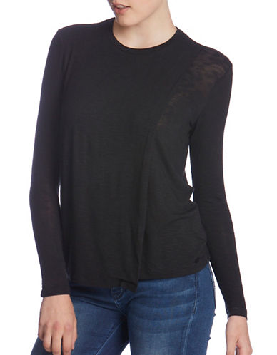 Bench Enunciation Long Sleeve Top-JET BLACK-X-Small 88859509_JET BLACK_X-Small