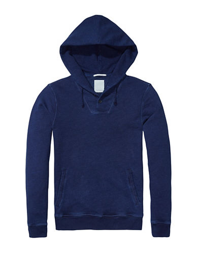 Scotch And Soda Home Alone Hoodie-BLUE-Large 88944395_BLUE_Large