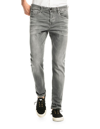 Scotch And Soda Ralston Regular Slim-Fit Jeans-GREY-36