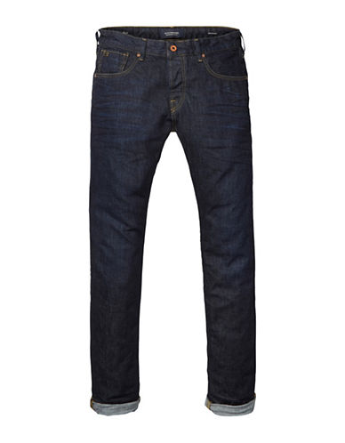 Scotch And Soda Ralston Touchdown Jeans-BLUE-33