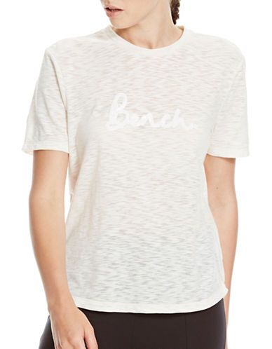 Bench Sequin Embroidered T-shirt-WHITE-Medium 88827971_WHITE_Medium