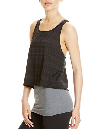 Bench Double Layer Tank Top-BLACK BEAUTY-X-Large